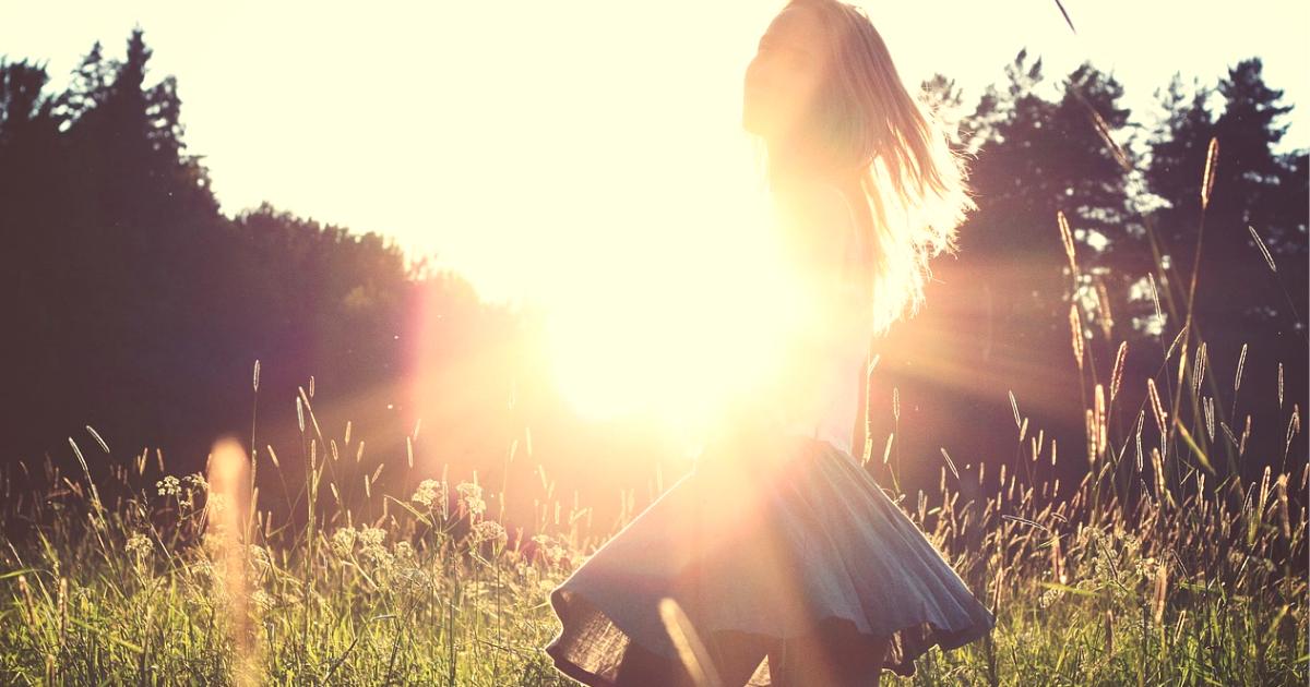 スカートの少女